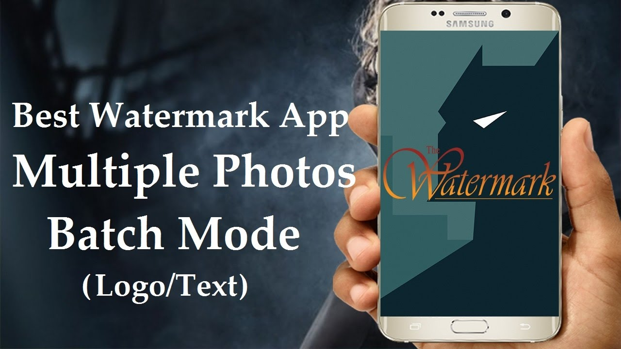 Best watermark app for android how to add watermark to multiple best watermark app for android how to add watermark to multiple photos on android easy fast ccuart Image collections