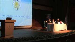 Üniversiteler Arası 12. Genç Ceza Hukukçuları Kongresi 1. Bölüm