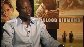 Blood Diamond: Interview - Djimon Hounsou