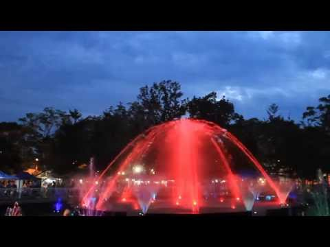 The Musical Fountain of Gaston Park,Cagayan de Oro City.