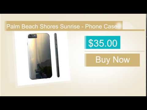 Palm Beach Shores Sunrise - Phone Case