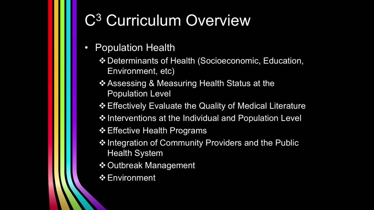 VCU C3 Curriculum Overview