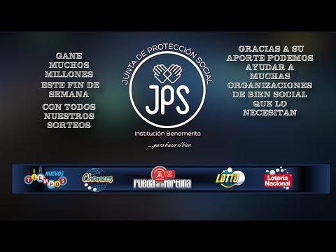 Sorteo Lotería NuevosTiempos N°16086. Lunes 16 de Octubre 2017. Junta de Protección Social