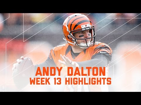 Andy Dalton Dominates with 332 Yards! (Week 13 Highlights) | Eagles vs. Bengals | NFL