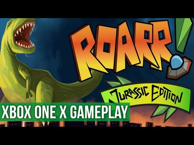 Roarr! Jurrasic Edition ► Xbox One X Gameplay / Preview