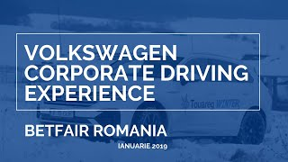 Touareg Corporate Winter Experience - BetFair Romania