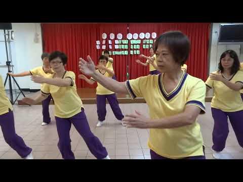 42式太極拳~樟林社區發展協會慶祝重陽節~105 10 8