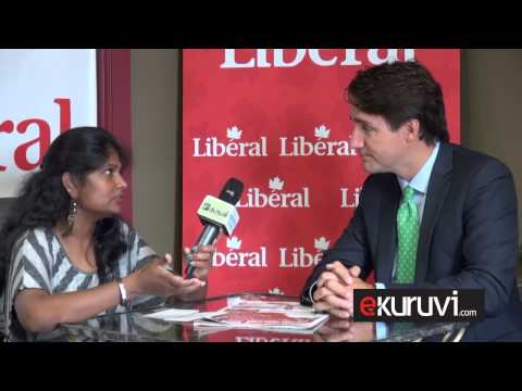Justin Trudeau interview 2015 - Ekuruvi