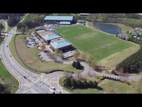 falcons training camp flowery branch ga drone