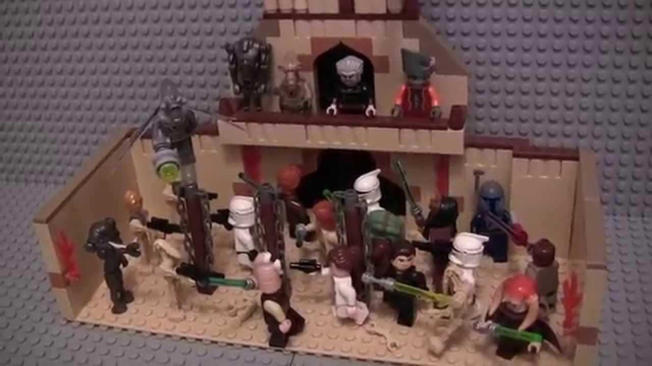 Lego Star Wars Geonosian Arena Moc Youtube