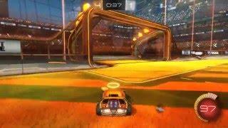 Rocket league - Stupid bot with own goal (Fail)