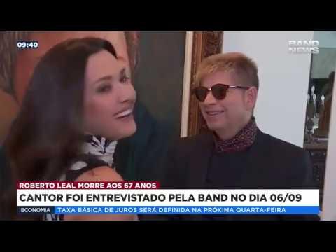 Cantor Roberto Leal morre aos 67 anos em SP