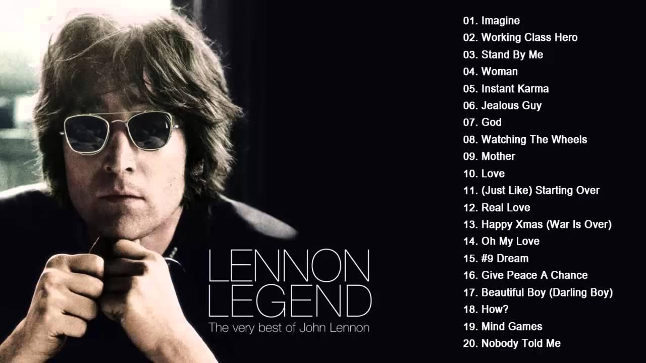 John Lennon Greatest hits playlist - Collection HD/HQ