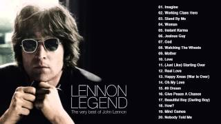 John Lennon Greatest hits playlist - Collection HD/HQ