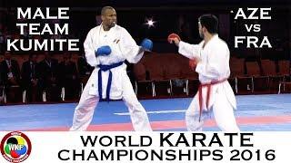 Video BRONZE (3/4) Male Team Kumite AZE vs FRA. 2016 World Karate Championships download MP3, 3GP, MP4, WEBM, AVI, FLV Agustus 2017
