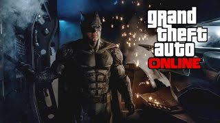 """GTA 5 Online - How to make """"BATMAN"""" Mask Goggles (From Justice League)"""
