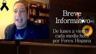 Breve Informativo -  Noticias Forex del 19 de Octubre 2018