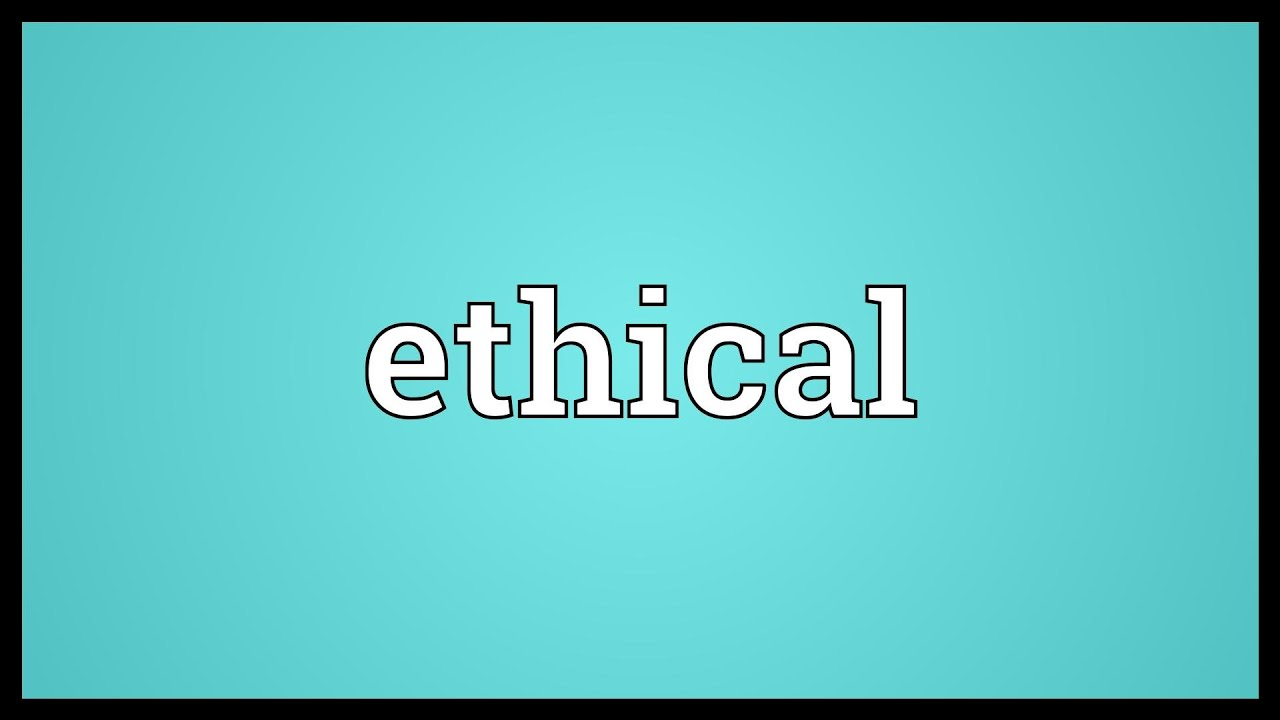 what is the meaning of ethical proverbs