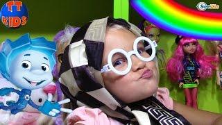 ФИКСИКИ Киндер Сюрпризы Распаковка - Перевоплощения Ярославы - Игрушки для Детей Kinder Surprise