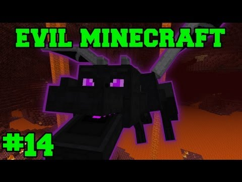 EVIL MINECRAFT! : NPC VILLAGE! - Episode 14 Let's Play (HARD MINECRAFT MODS)