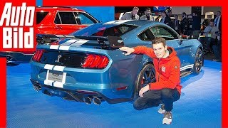 Ford Mustang Shelby GT500 (NAIAS 2019) Vorstellung / Sitzprobe / Details