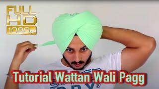 Turban - Tutorial Wattan Wali Pagg Performance by Satnam Singh