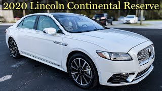 First Look | 2020 Lincoln Continental Reserve with Jonathan Sewell Sells at Mitchell Lincoln