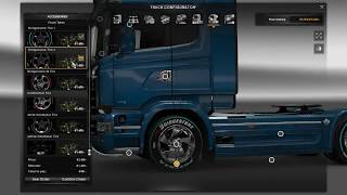 ATS/ETS 2 Mod: Sport Wheels pack v2