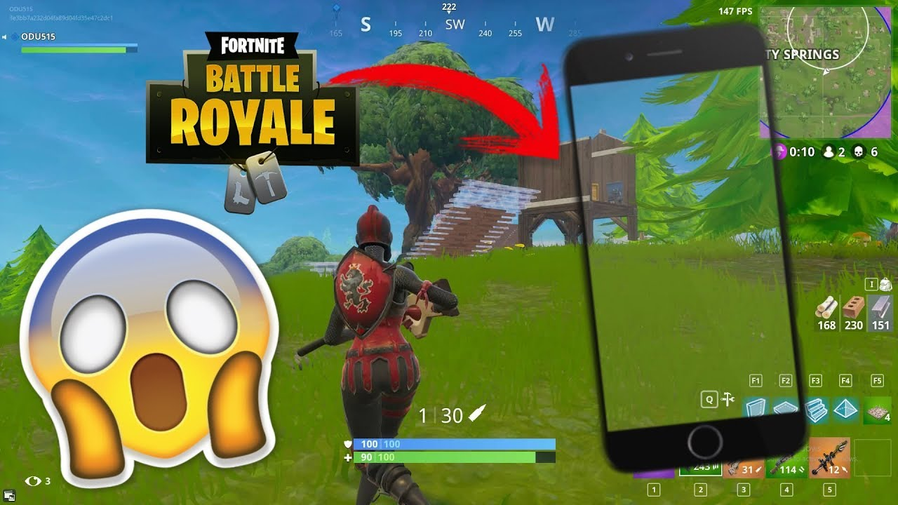 When Is Fortnite Coming To Iphone 6 Fortnite Saldra Para Iphone 6 Si O No Youtube