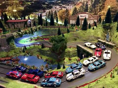 Circuit Slot carrera Go RALLYE DU VAR version 2019,voitures jouef scalextric