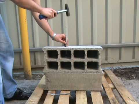 Дюбелям для керамзитобетон головки для цементного раствора
