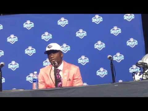 Corey Davis Interview Tennessee Titans NFL Draft 1st Round Pick #NFLDraft