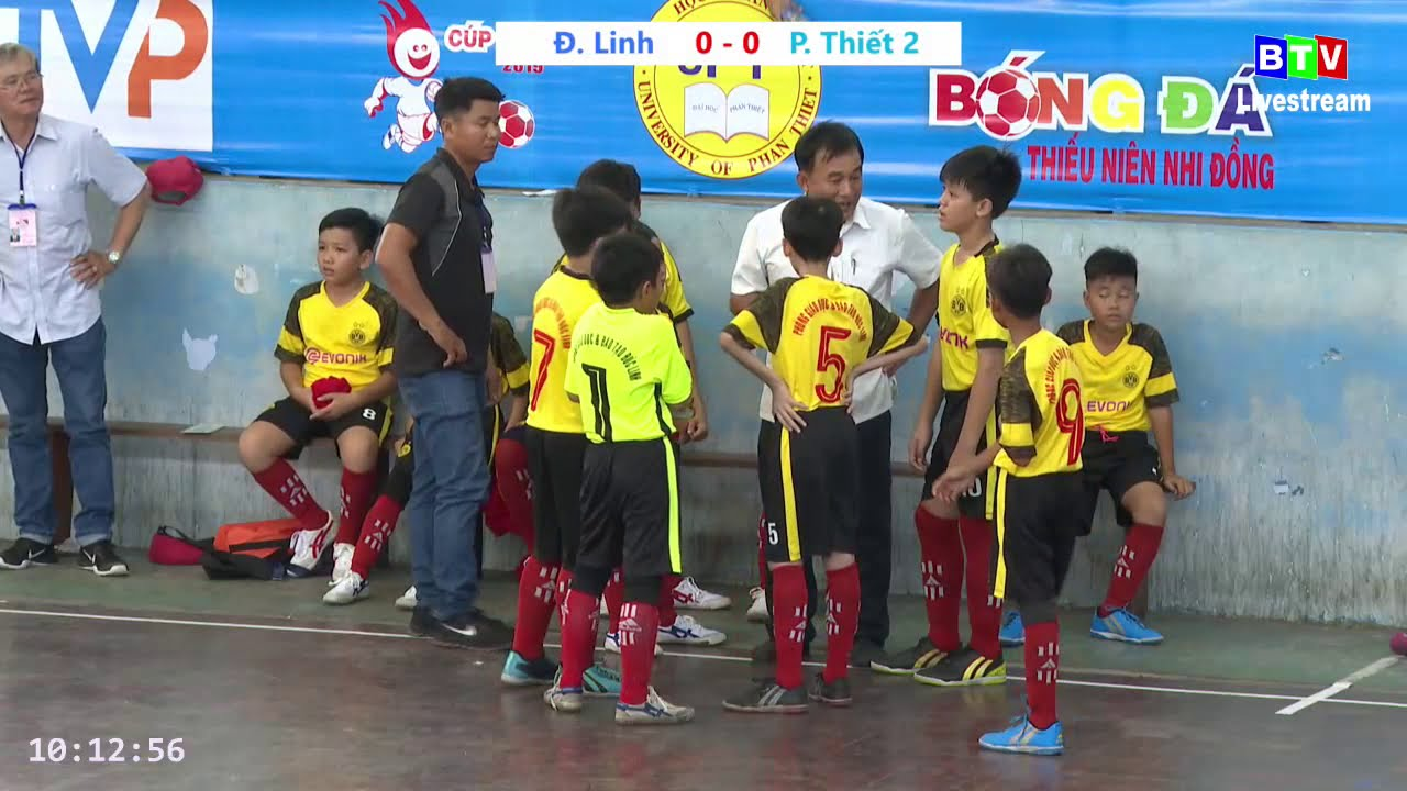 Trực tiếp Phan Thiết 2 – Đức Linh – BTV CUP 2019
