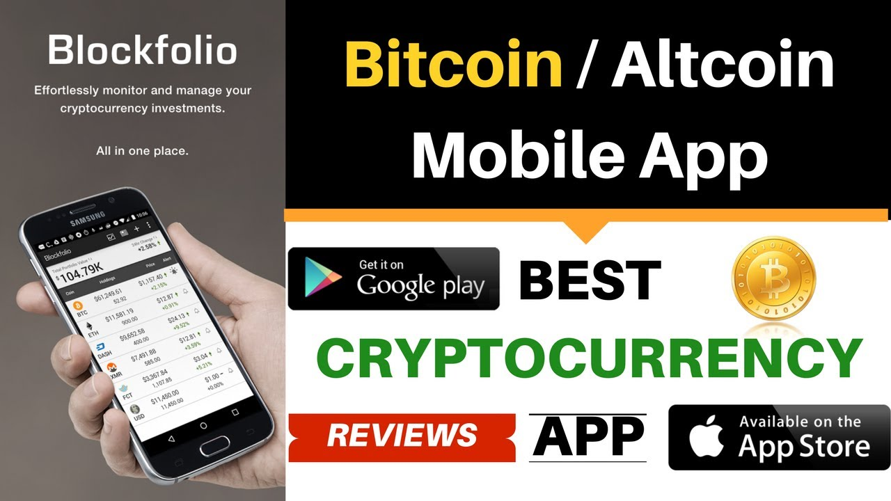 top best cryptocurrency apps