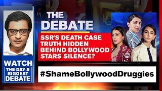 Sushant's Death Case Truth Hidden Behind Bollywood Stars Silence? | Arnab Goswami Debates