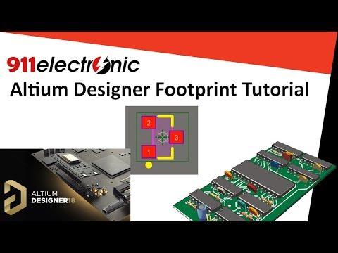 PCB Design Course - Altium Designer Footprint Creation Tutorial