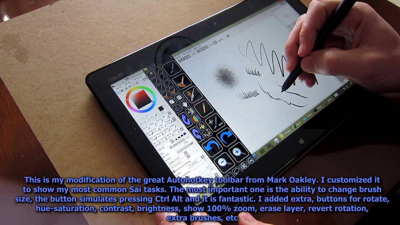 Asus Vivotab Tf810c Tablet Drawing Painting Review