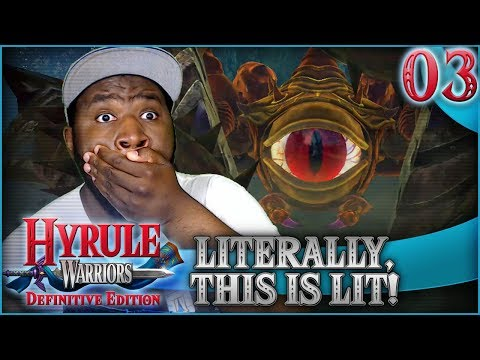 """""""THIS STAGE IS LITERALLY LIT!""""   Hyrule Warriors Definitive Edition w/ @PKSparkxx"""