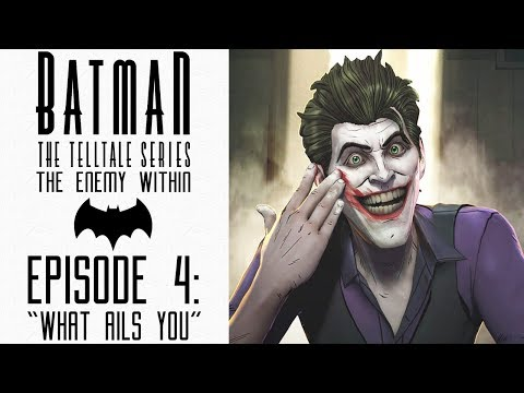 "Batman: The Enemy Within (Telltale) - Let's Play - Episode 4: ""What Ails You"" (FULL EPISODE)"