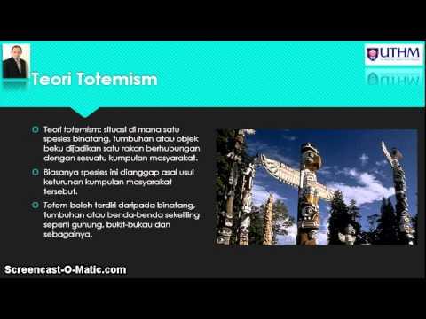 Akidah Ketuhanan & Sains Topik 2a: Teori Asal Usul Agama