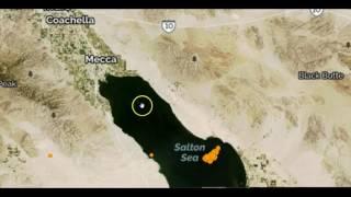 San Andreas Fault: Nearly 200 Earthquakes Strike Southern California s Salton Sea