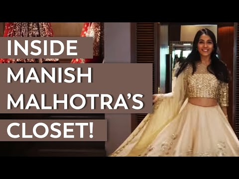 Inside Indian Couturier Manish Malhotra's Store | Miss Style Fiesta | Virtual Wedding
