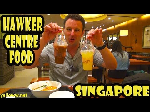 Singapore Hawker Centre Food