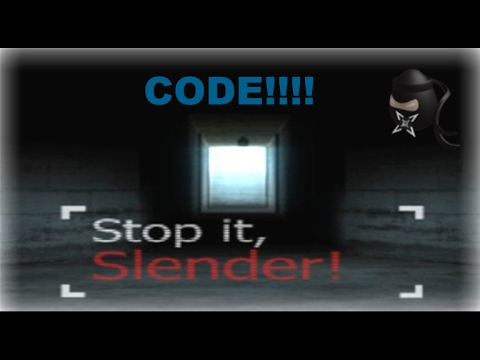 Roblox - Stop it Slender 2 All Codes |2017 March
