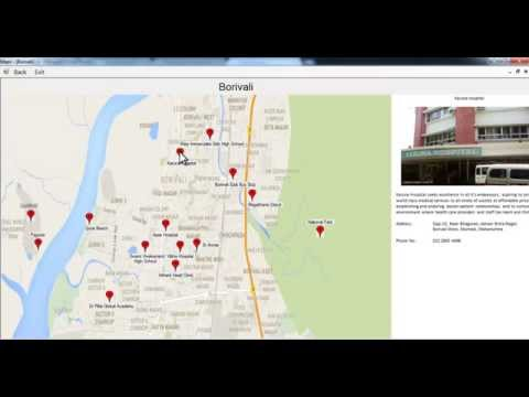 Geographical Information System For Tourists