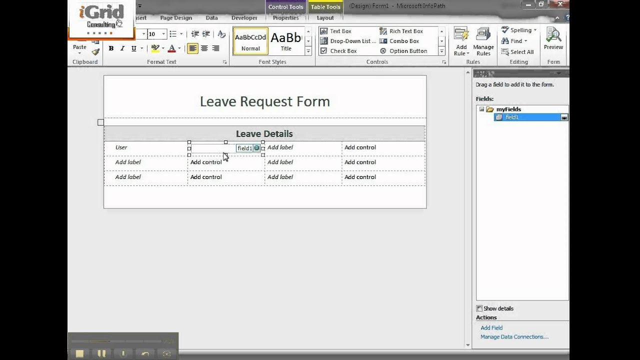 33 sharepoint 2010 infopath forms in forms library 1