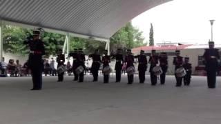 Banda de guerra.Escuela Jose Maria Morelos..!