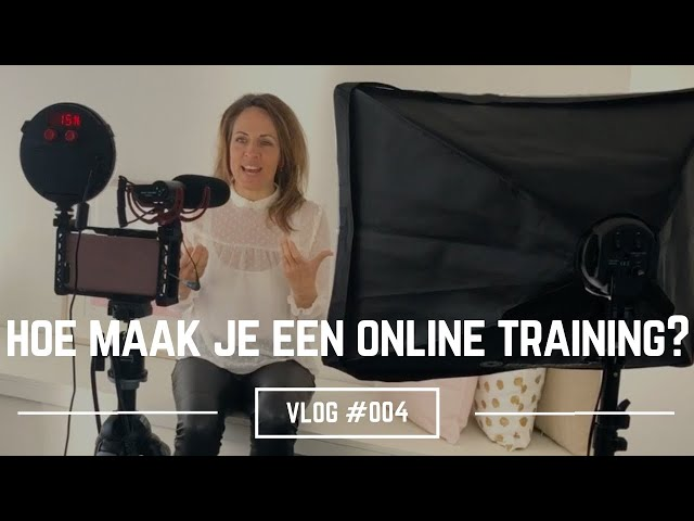 Hoe maak je een online training? | Liesbeth Besamusca VLOG #004