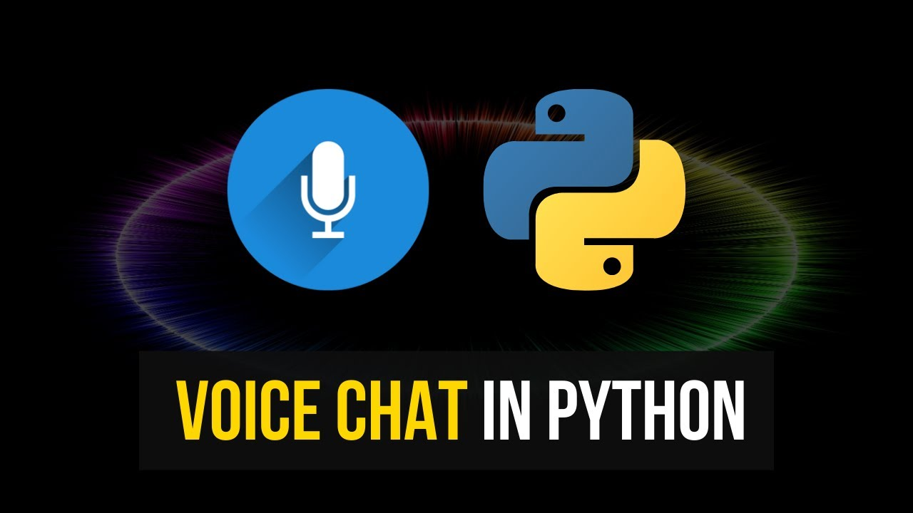 Simple Voice Chat in Python