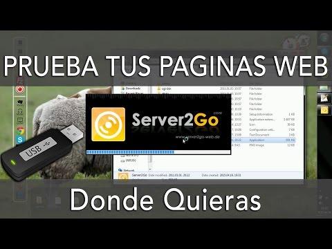 PRUEBA PÁGINAS WEB DESDE TU MEMORIA USB 💻
